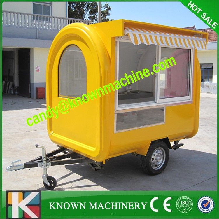 Mobile Heavy Duty Catering Trailer Cart Food Service