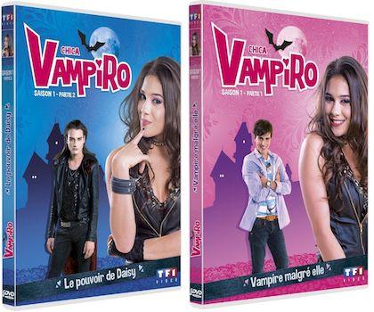 Concours Chica Vampiro Gagnez 2 Lots De 2 Coffrets Dvd Saison 1 Part 1 2 Coffret Dvd Dvd Jeu Concours
