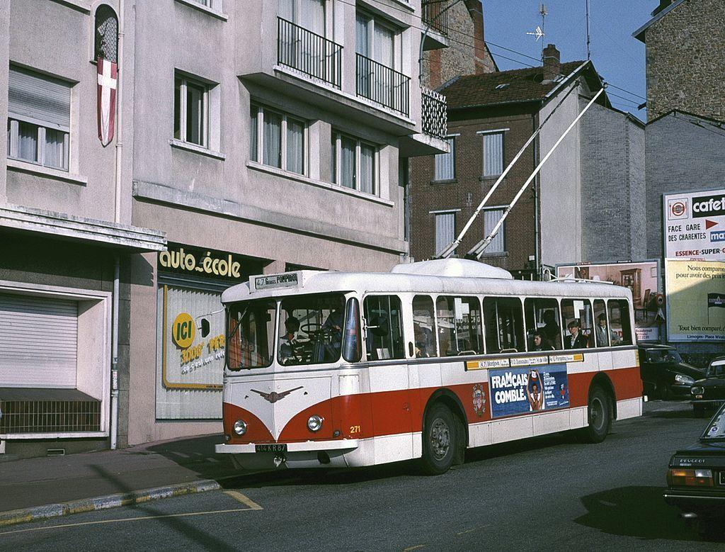 Limoges Trolleybus Vetra Vbrh