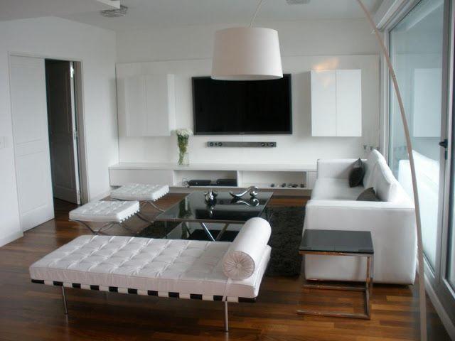 Deco living comedor moderno buscar con google casa for Muebles modernos montevideo