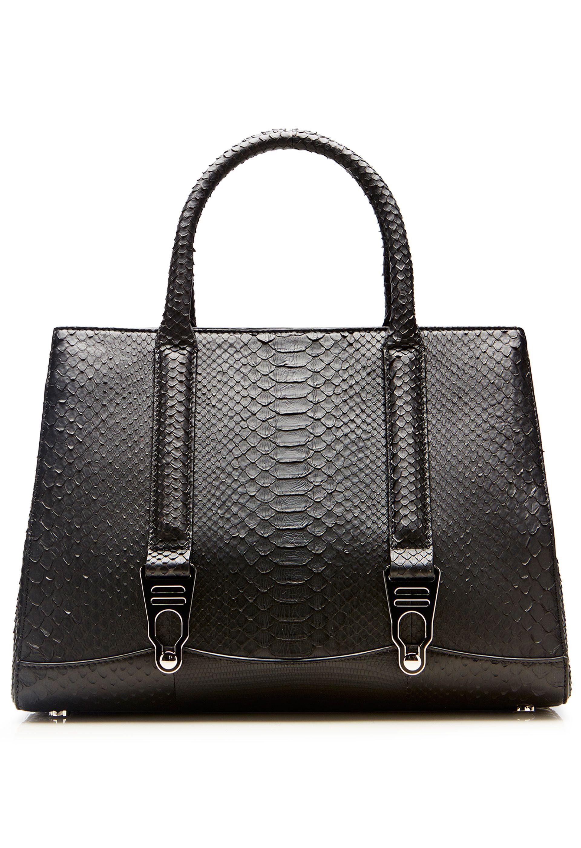 La Perla Bags Rubberised Python 1954 Bag Small