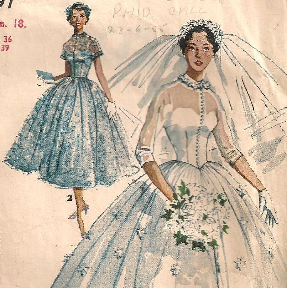 wedding dress skirt pattern