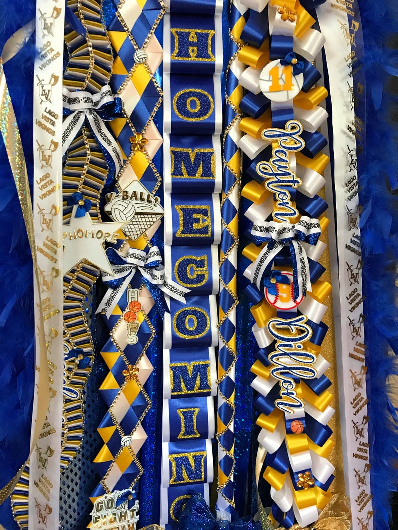 Homecoming Mum for Junior - Triple Homecoming Mum #homecomingmumsdiy