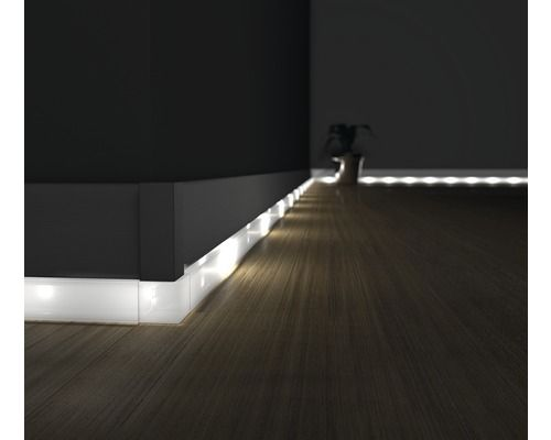 led kanal f r led sockelleiste opal 22x2500 mm diy what to tinker pinterest h rner. Black Bedroom Furniture Sets. Home Design Ideas