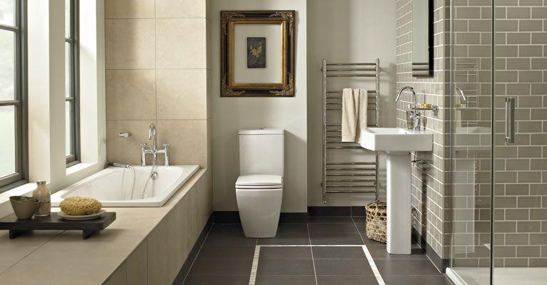 ideas for bathrooms fired earth - Bathroom Ideas Metro Tiles