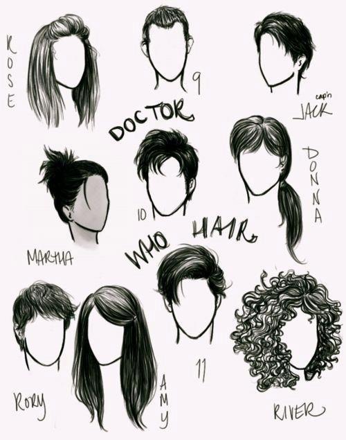 Doctor Who Hair <-- Feels, So many feels... from HAIR.