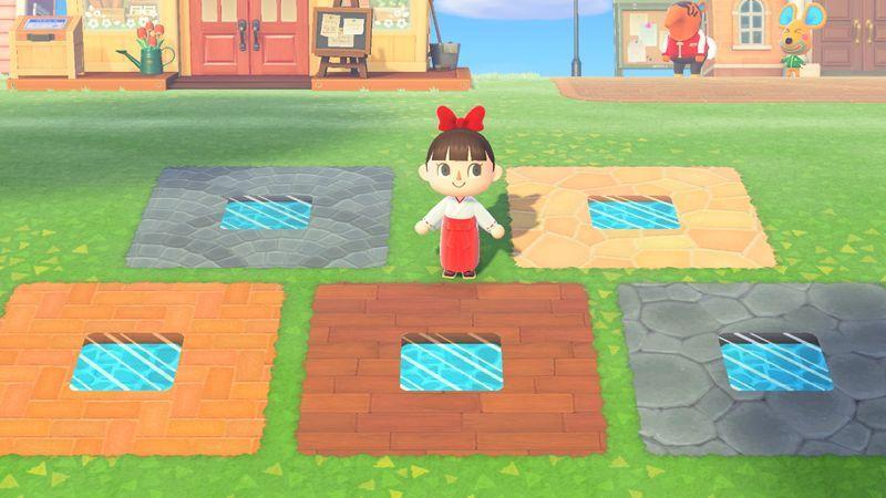 地面 あつ森 床