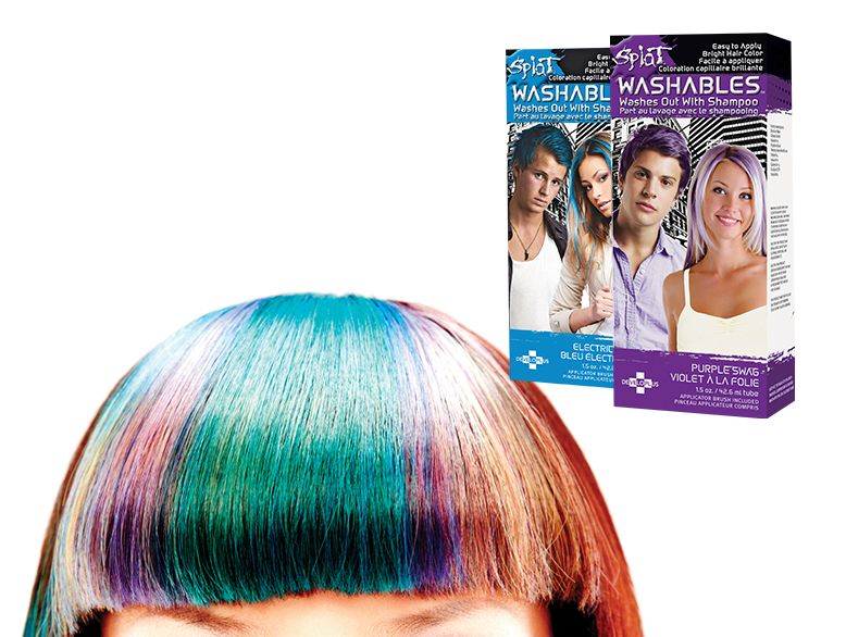 splat hair colour washable walmart live better magazine fall 2013