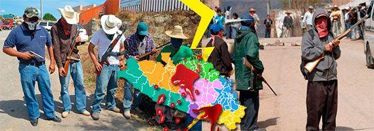 Se gestan nuevos grupo de autodefensa armada en Cuautepec y Acatempa    CHILPANCINGO, Gro. / 3 de febrero.  Irza * En una asamblea popular que se realizó en el zócalo de la cabecera municipal de Cuautepec, ciudadanos de esta demarcación aprobaron la integración de grupos de autodefensa armada para enfrentar a la delincuencia organizada.