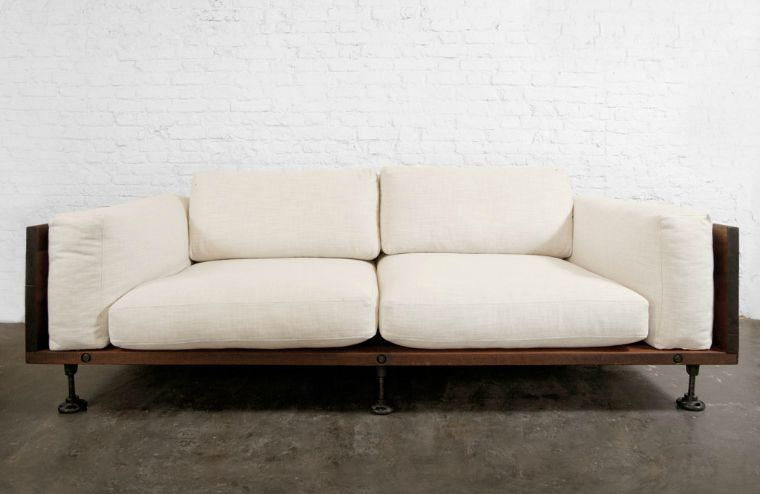 industrial style sofa - Google Search