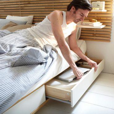 meuble ikea 10 astuces de rangement pour gagner de la place chambre pinterest astuce de. Black Bedroom Furniture Sets. Home Design Ideas