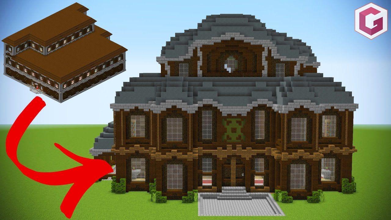 Let S Transform A Minecraft Woodland Mansion Minecraft Mansion