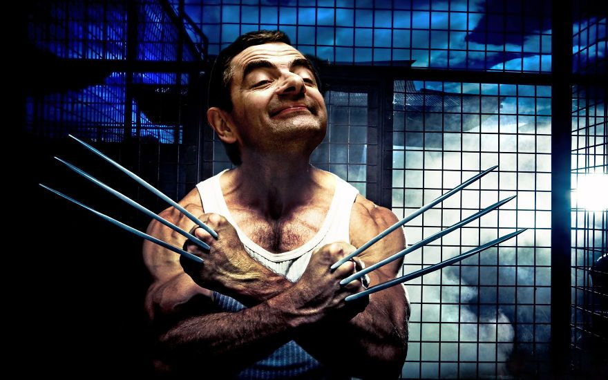 People Are Photoshopping Mr Bean Into Stuff And It S So Good Entertainment Mr Bean Funny Mr Bean Photoshop Mr Bean