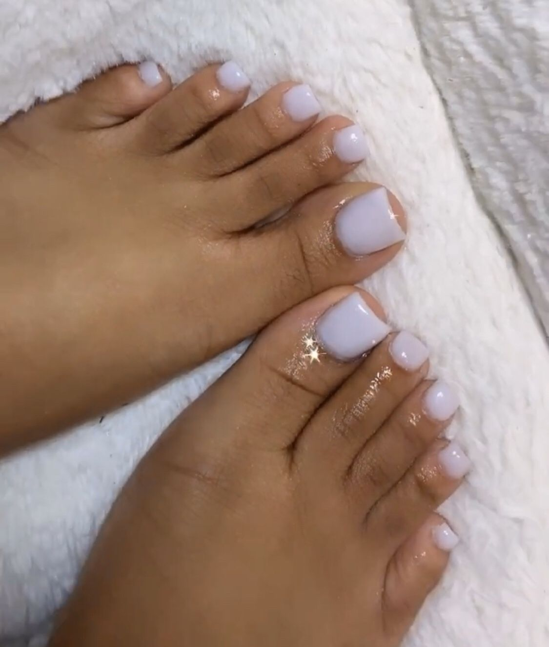 White Toes In 2020 Gel Toe Nails Acrylic Toe Nails Acrylic Toes