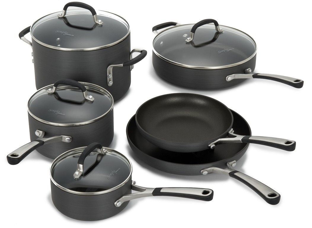 Calphalon simply nonstick 10 pc information from consumer