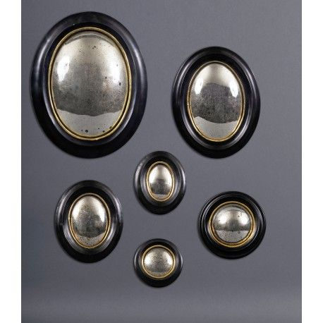 19th CENTURY WITCH MIRROR FRAMES (SET OF 6) Mirror wall