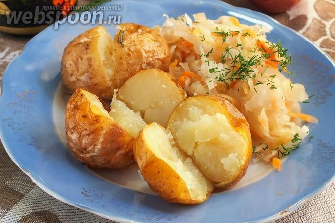 Фото Картофель в мундире запечённый в фольге | картофель ...