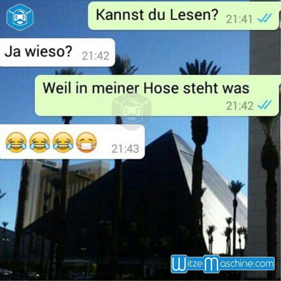 Lustige WhatsApp Bilder und Chat Fails - In meiner Hose