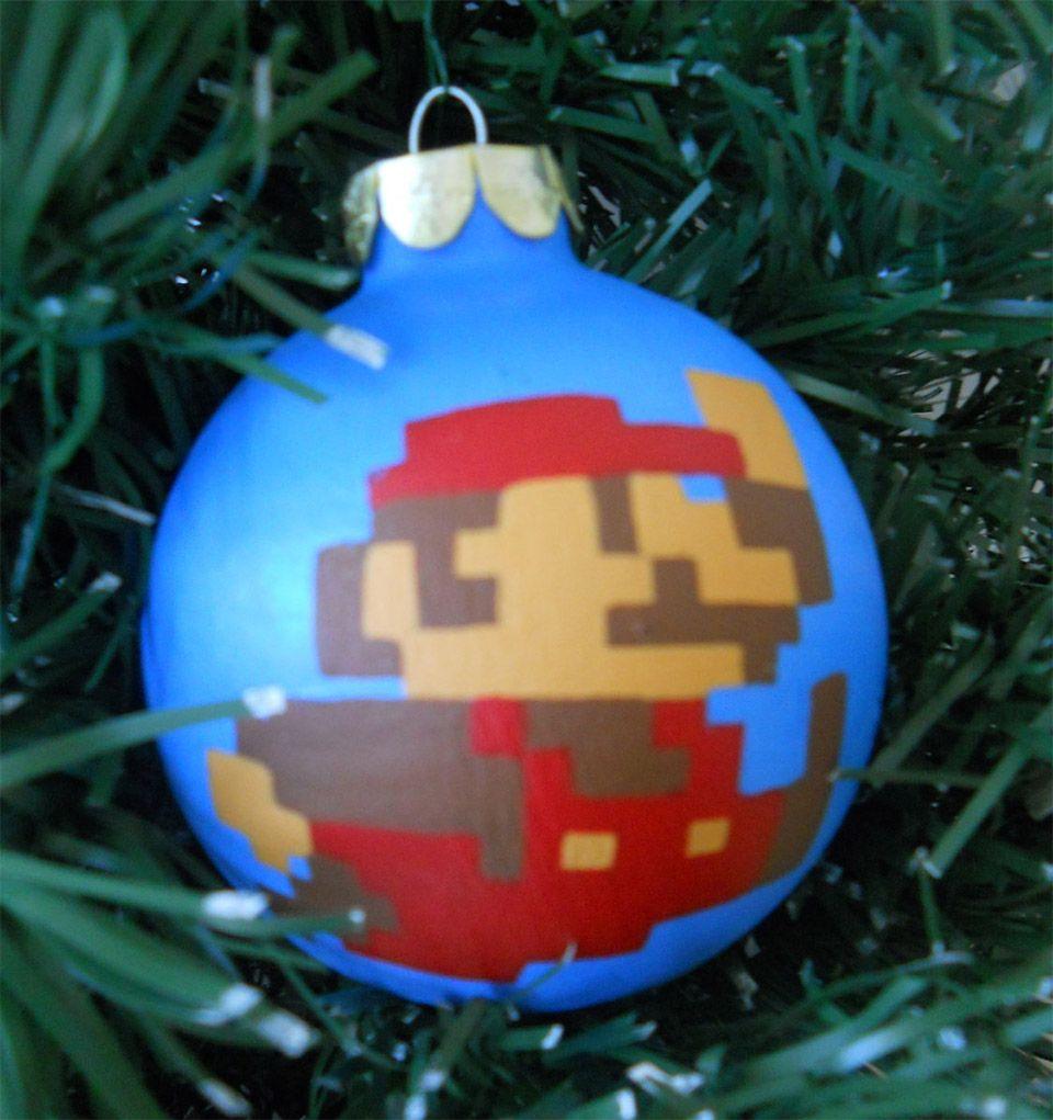 Nintendo Christmas Ornaments: Merry Mario! | Christmas | Pinterest ...
