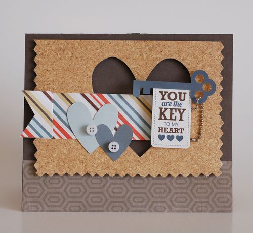 Cards You Are The Key To My Heart Card Valentine Heart Card Heart Cards Inspirational Cards
