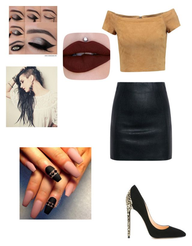 """""""Untitled #10"""" by sr-music-junky98 on Polyvore featuring Alice + Olivia, McQ by Alexander McQueen and Cerasella Milano"""
