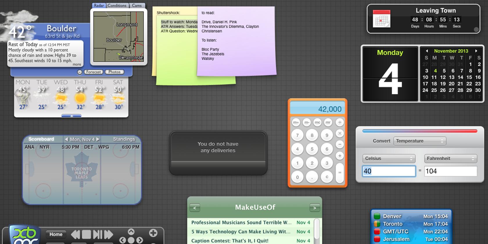 9 Mac Dashboard Widgets You'll Actually Use | Mac | Macbook apps