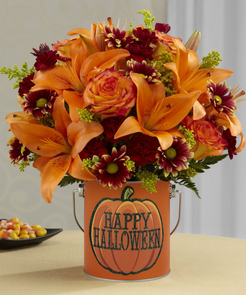 Halloween flower arrangement ideas with images holiday image halloween flower arrangement ideas with images izmirmasajfo Choice Image