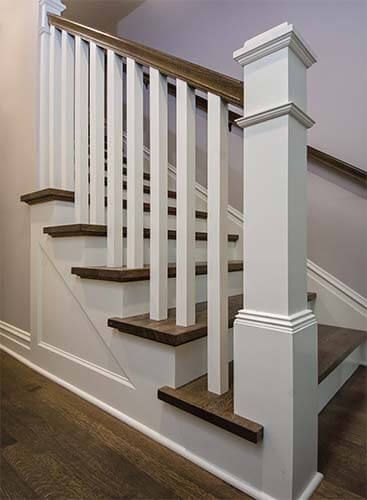 Marvelous A New Staircase And Railing Shows Off Quartersawn Oak Download Free Architecture Designs Embacsunscenecom