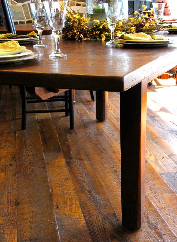 Shenandoah Farm Table Farm Table Reclaimed Wood Furniture Table