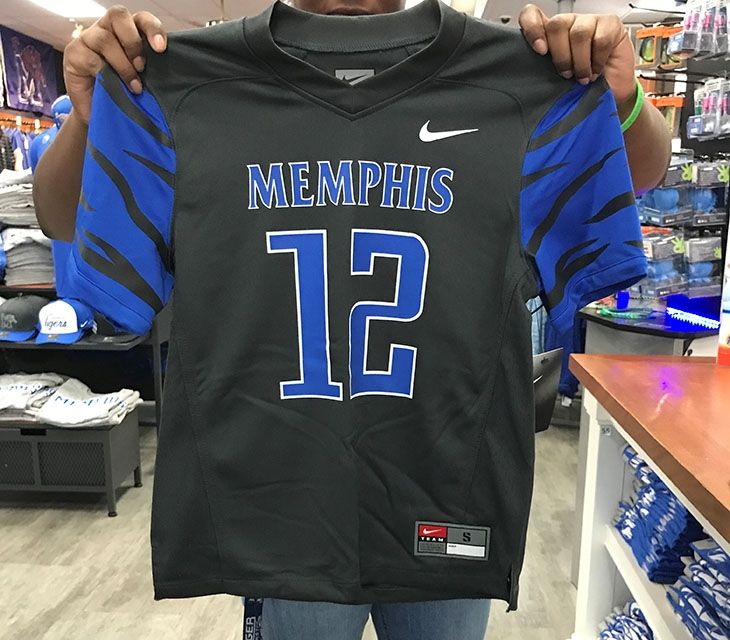 best cheap 690d2 8cf69 2017 Youth Memphis Tigers Nike Football Jersey | Tiger gear ...