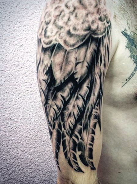 Top 100 Best Wing Tattoos For Men Designs That Elevate Full And