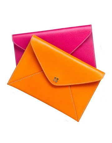 POC= Pop of Color clutch bag by kate spade