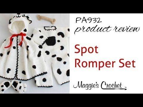 Maggie's Crochet · Spot Romper Set Crochet Pattern