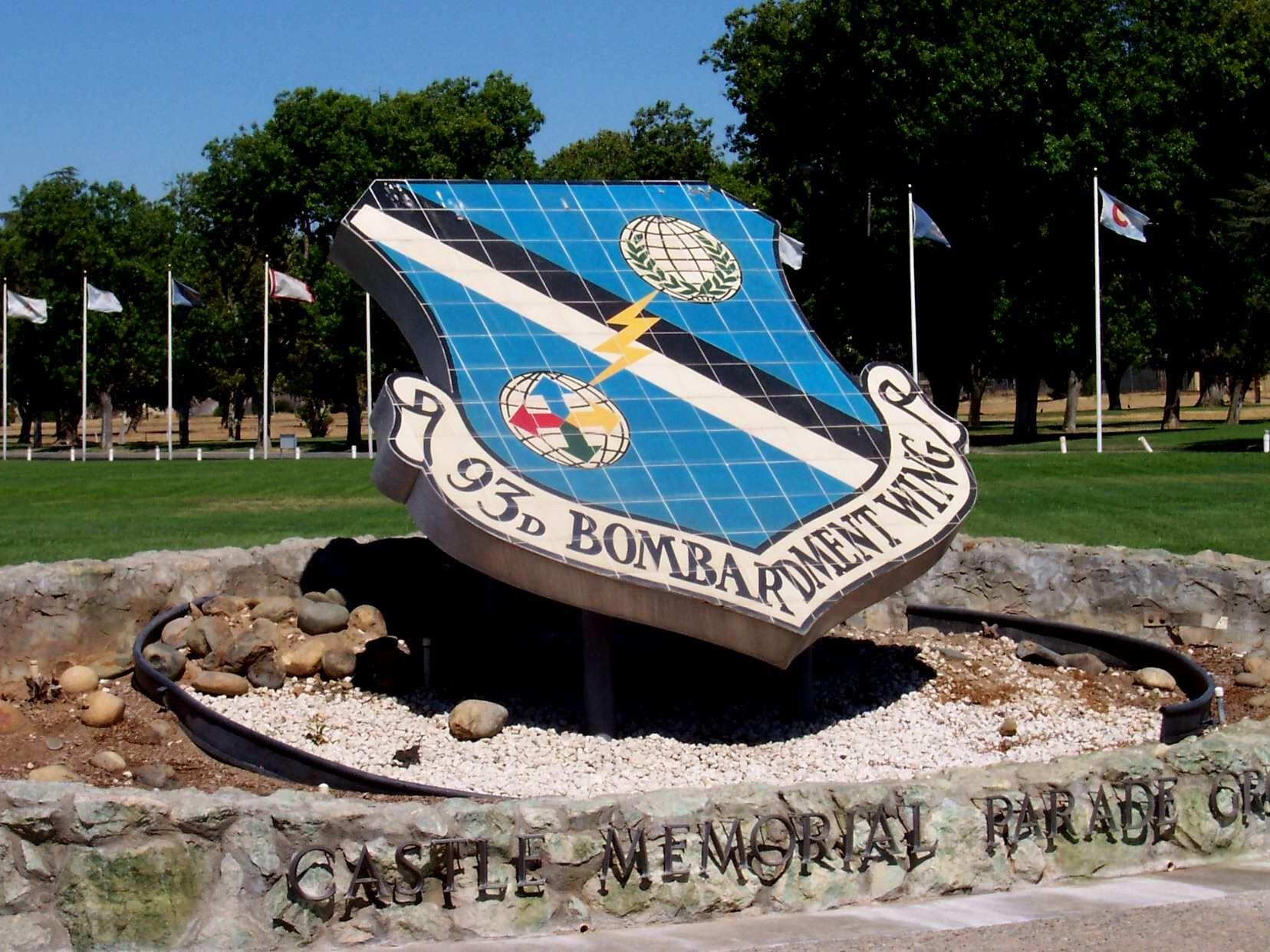 Merced, California. Nearby Castle Air Force Base memorial