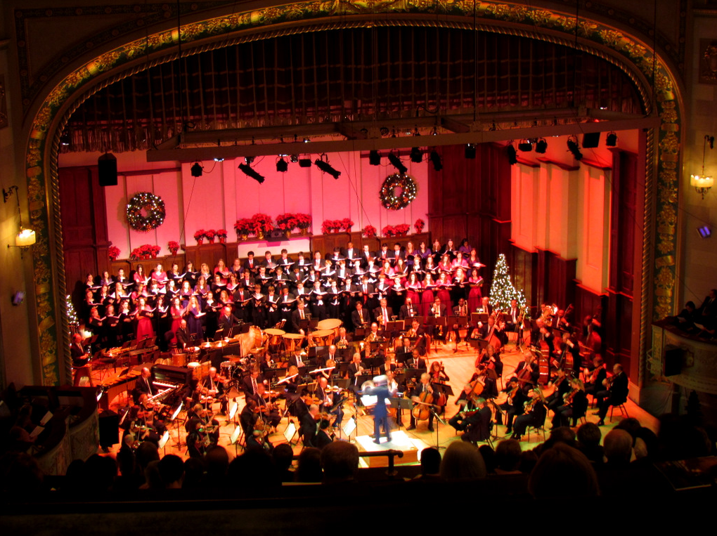 Detroit Symphony Orchestra Hall At The Max M Fisher Music Center