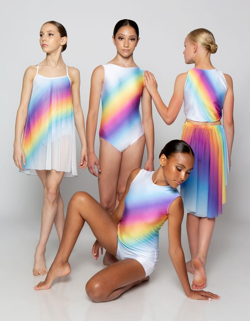 Pin By Esther Carlin On Comp Season In 2020 Rainbow Dance Dance Costumes Dance