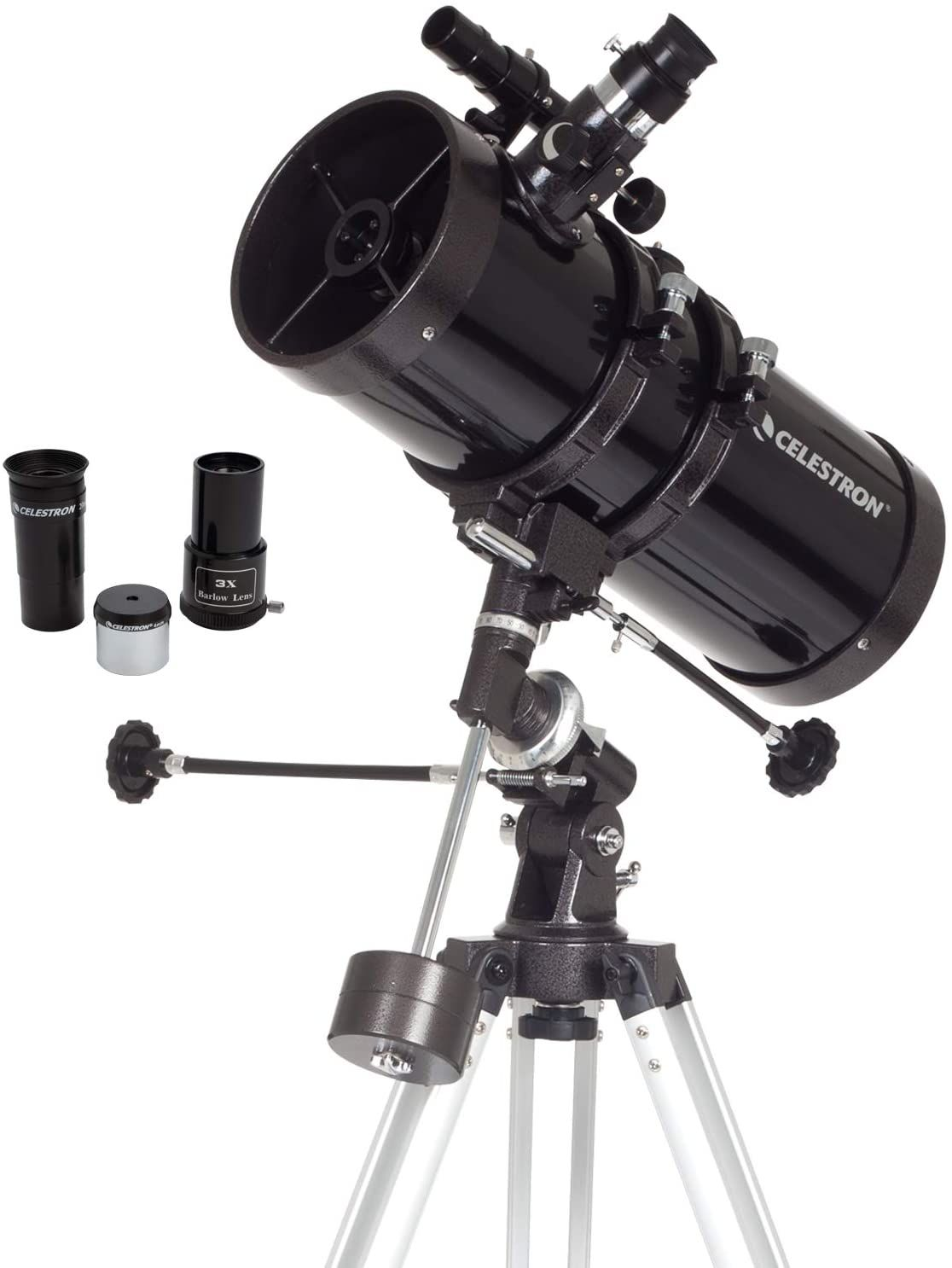 Multi-Layer Green Film Telescope 80EQ Refractor Scope with Digiscoping Adapter for Photography and 13 Percent Transmission Moon Filter 80mm Aperture and 700mm Focal Length