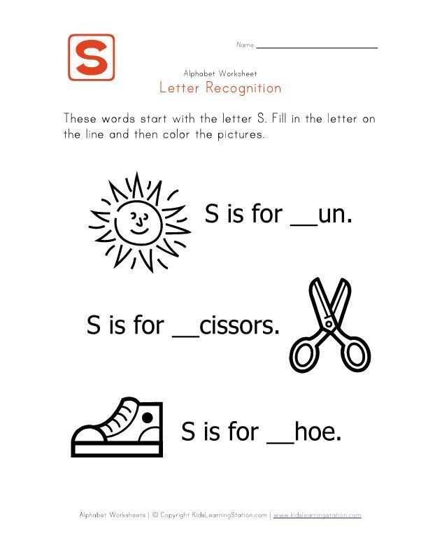 Week One Letter S Words That Start With The Letter S News To Go 3