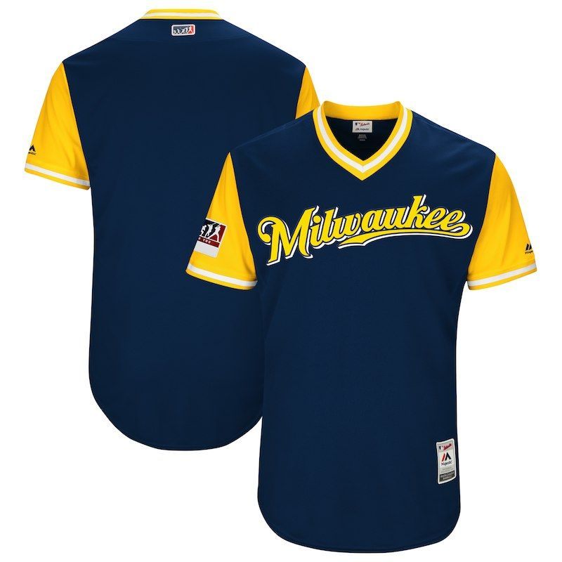 best sneakers 42f06 84840 Milwaukee Brewers Majestic 2018 Players' Weekend Authentic ...