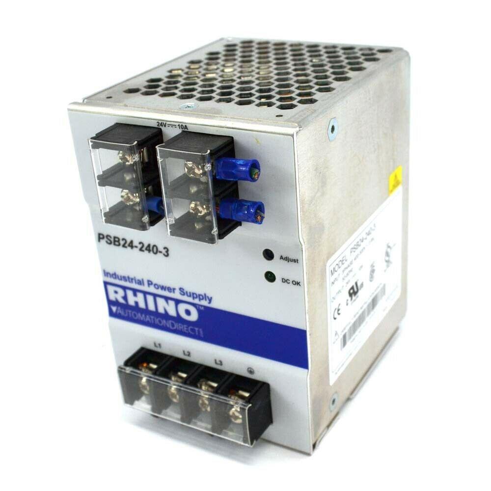 eBay #Sponsored Rhino Automation Direct PSB24-240-3 3Ph 24V
