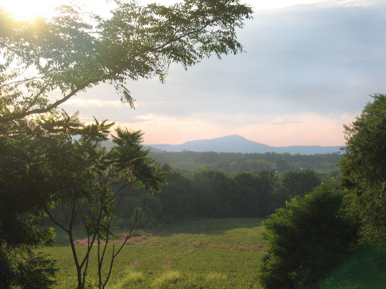 Catskill Mountains  from Livingston, NY