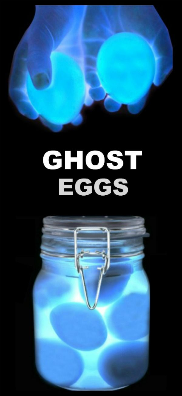 Ghost Eggs Experiement