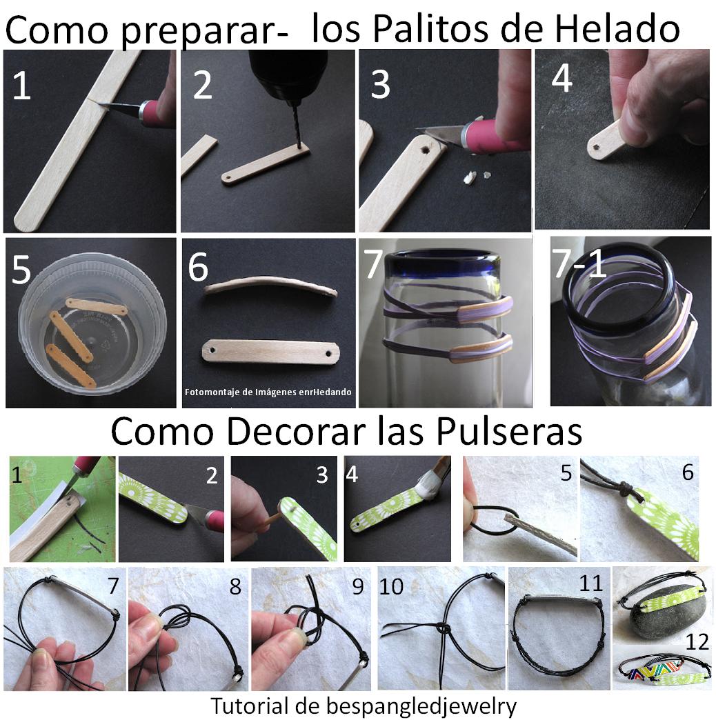 diy brazalete Popsicle sticks | Paletas | Pinterest | Craft ...