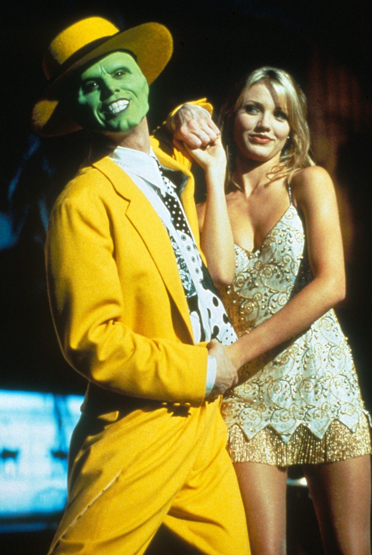 Jim Carrey And Cameron Diaz In The Mask 1994 Jim Carrey Cameron Diaz Movies Cameron Diaz