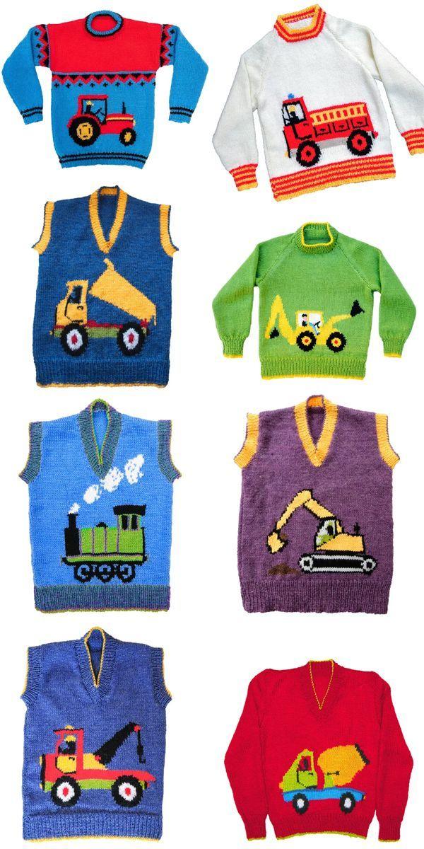 Transportation Knitting Patterns
