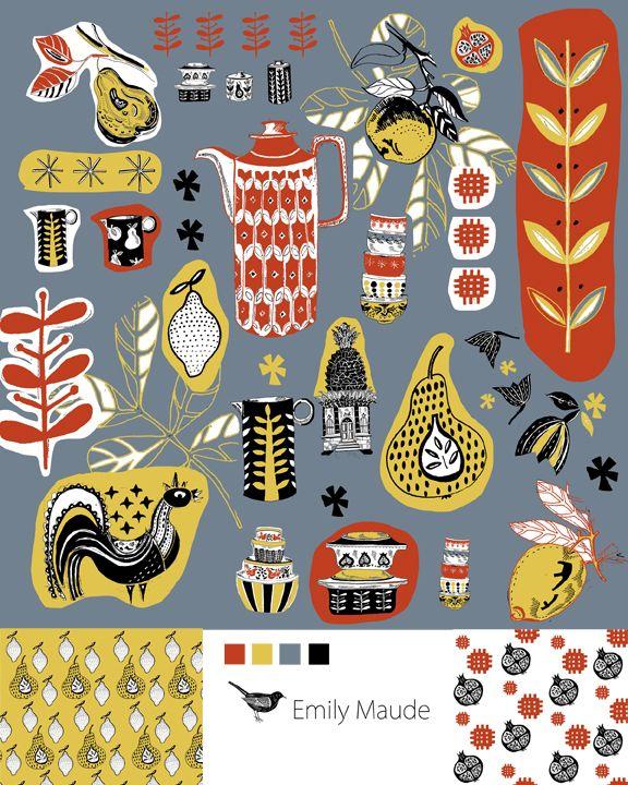 Emily Maude Bolt Fabric Design