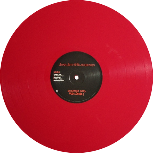 Greatest Hits Album By Joan Jett Amp The Blackhearts Newbury Comics Exclusive Limited To 500 Copies On Red Vinyl Collection Of U Rare Vinyl Records Vinyl
