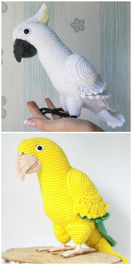 Crochet Bird Patterns Easy DIY Video | Le WHOot   – Animals crochet