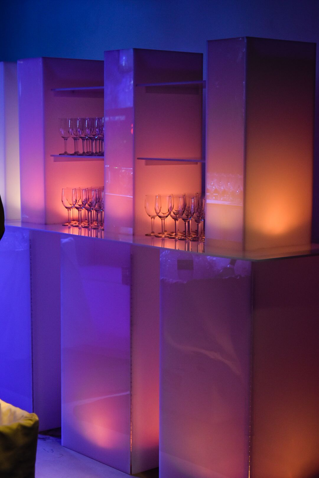 Our New Led Back Bars Have Been A Hit Add A Little Color To Your Next Bar Set Up Eventrentals Furniturerentals Lighti Bar Set Up Led Lights Led