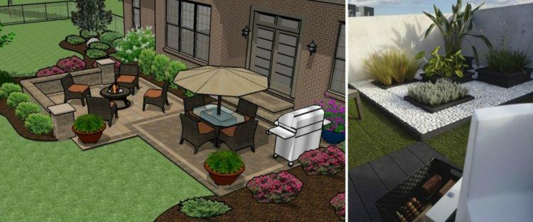 Garten Im Quadrat Gestalten Kleine Grosse Aussenbereiche